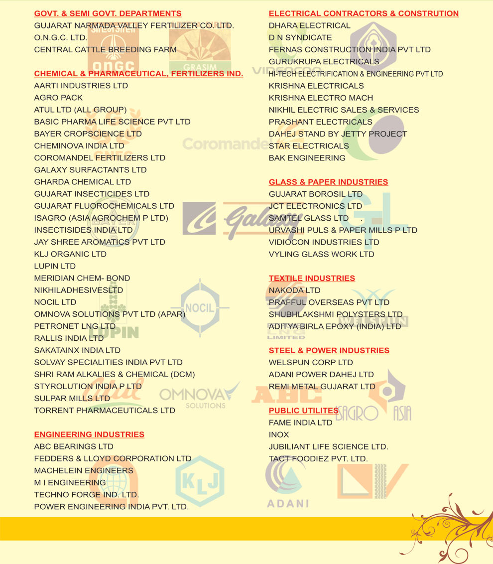 Our Clients | Bhavna Electric & Machinery Stores Pvt  Ltd